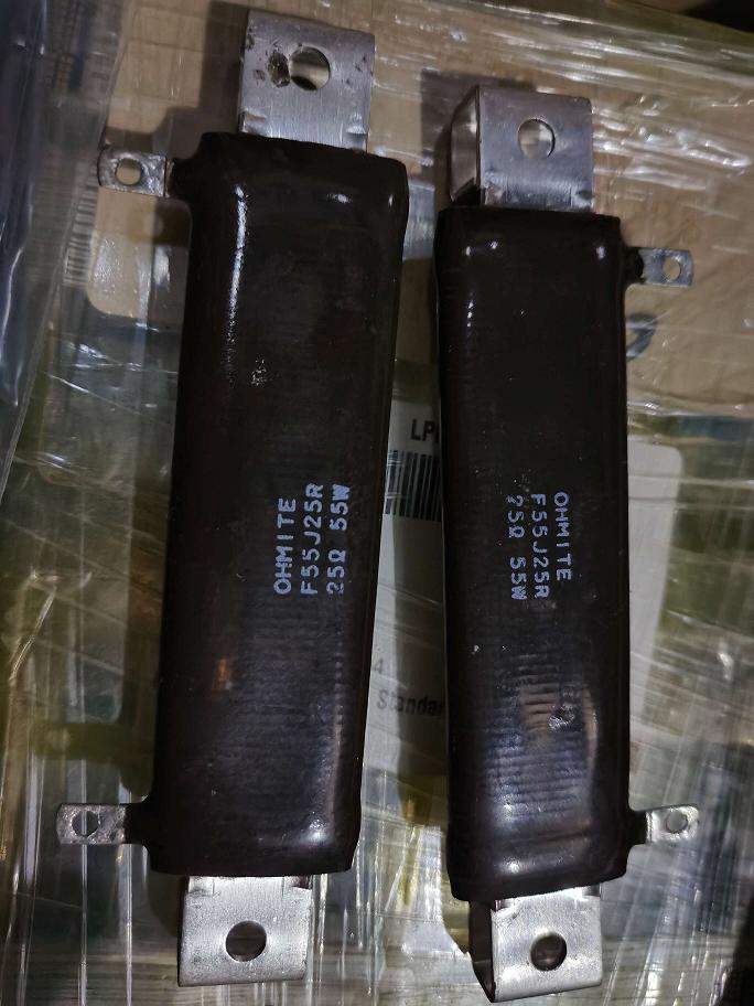 F55J25R Ohmite 55Watt 25Ohm